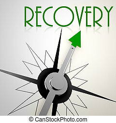 Recovery on green compass