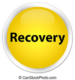 Recovery premium yellow round button
