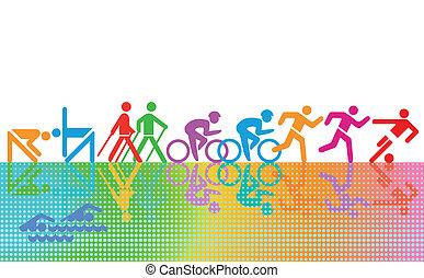 recreação, e, esportes