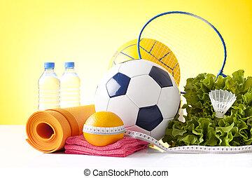 recreação, lazer, equipamento esportes