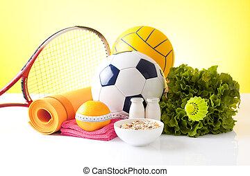 recreación, ocio, equipo de deportes