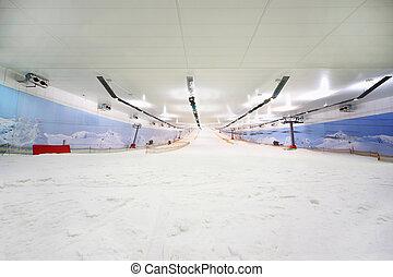 recreación, snow;, muchos, interior, ski;, funicular;, ...