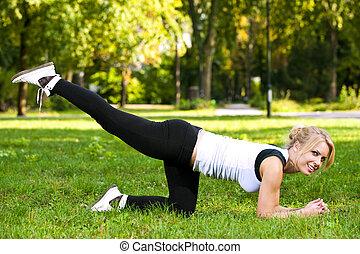 recreacional, exercício