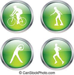 recreation buttons