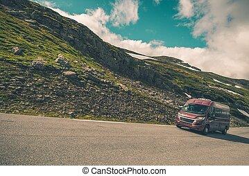 Recreation Vehicle RV Travel