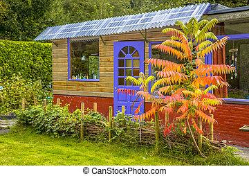 Recreational garden guest house