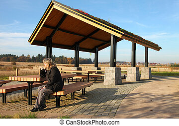 Recreational & picnic area shelter.