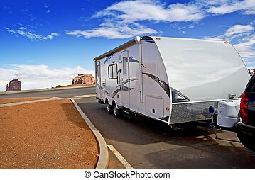Recreational Vehicle RV - Modern Lightweight Travel Trailer...