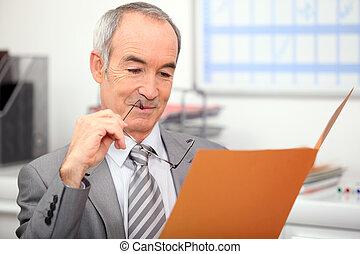 recruiter, leitura, aplicação trabalho