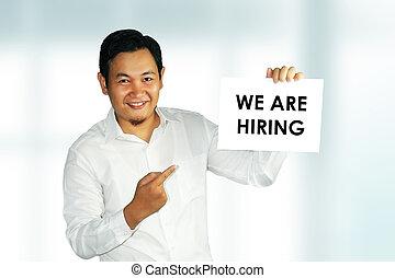 Recruitment Concept
