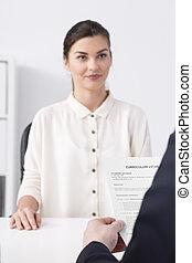 Recruitment in corporation