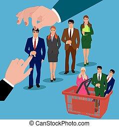 recruitment, interview, job hunter