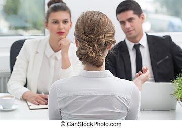 recrutamento, candidato, procedimento