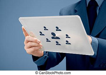 recrutamento, recursos humanos