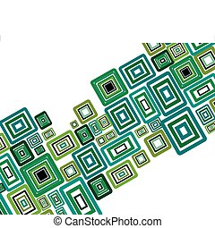 rectangle background - Abstract colorful vector background ...