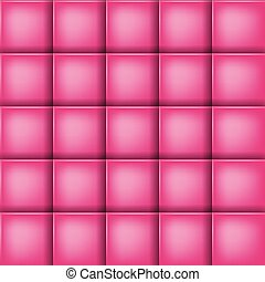 Rectangle grid - Pink square abstract vector background