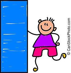 rectangle kid - learning shapes at kindergarten - toddler...