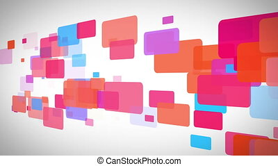 Rectangle of colorful rectangle mov - Background of...
