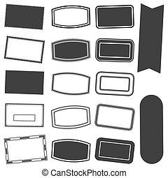 Rectangle Stamp Set