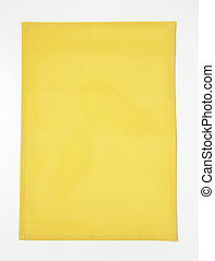 rectangle yellow placemat