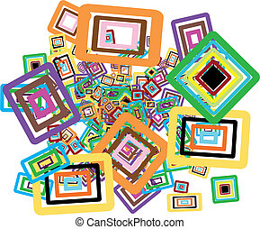 rectangles background