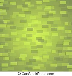 Rectangles on a green background.