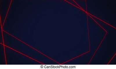 Rectangles on blue background