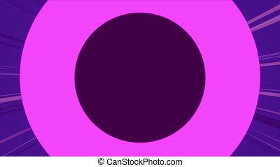 rectangulaire, bleu, circulaire, formes, fond, pourpre