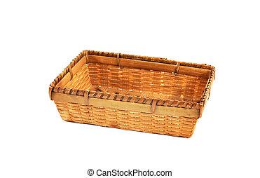 rectangular, cesta