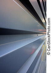 Rectangular corrugation