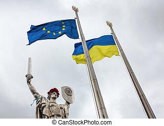 recuerdo, reconciliación, kiev, día
