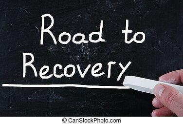 recuperação, estrada