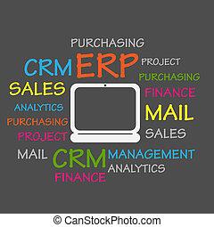 recurso, planificación, erp, empresa