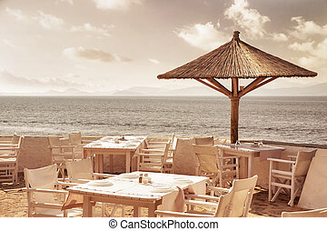 recurso, praia, luxo
