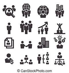 recursos humanos, ícone
