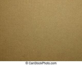recyccle, carton, papier