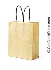 recyclé, sac papier