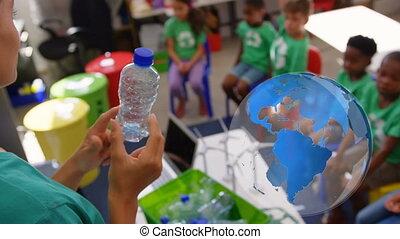 recyclage, école