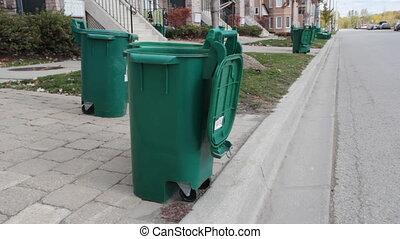 recyclage, bins.