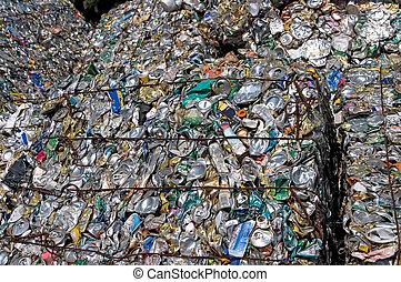 recyclage, boîtes