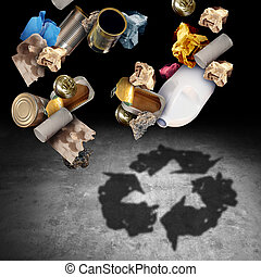 Recycle And Recycling Concept