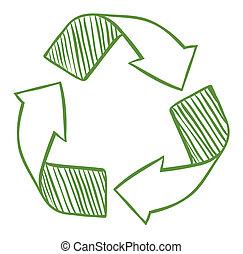 Recycle arrows