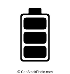 recycle battery energy eco pictogram