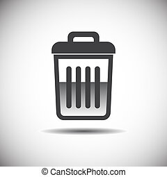 recycle bin icon full