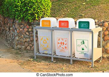 Recycle bins set