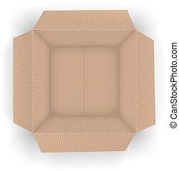 Recycle brown box