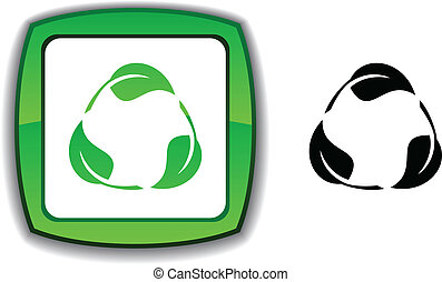 Recycle button.