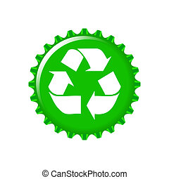 Recycle Cap Illustration