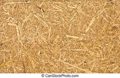 Recycle compressed wood surface - Close up of a recycle ...