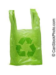 Recycle Green Plastic Bag